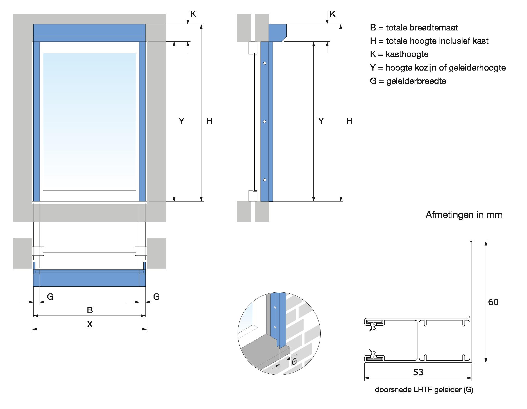Meetinstructie Rolluiken